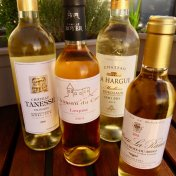 golden Bordeaux sweet wines Loupiac Sainte-Croix-du-Mont