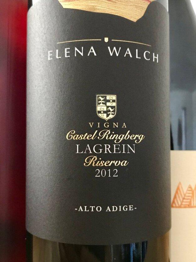 Elena Walch vigna castel ringberg lagrein riserva