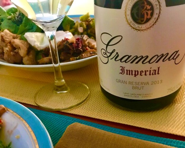 Gramona sparkling wine
