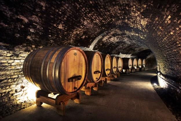 foudre oak wine cask