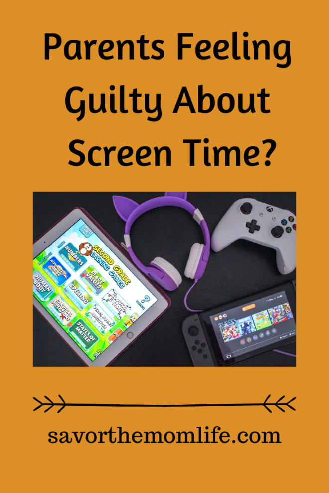 Parents Feeling Guilty About Screen Time?