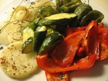 Oven Roasted Summer Vegetables