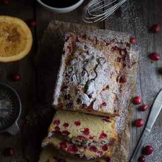 Homemade Cranberry Orange Bread