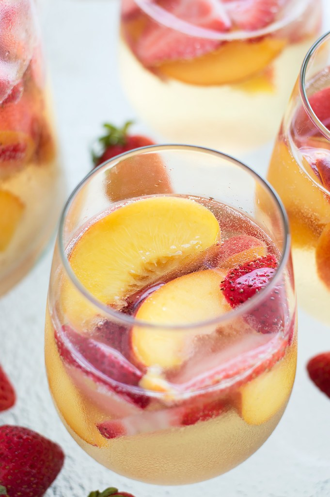 Sparkling Peach and Strawberry Sangria DSC_0412