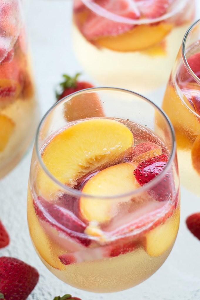 Sparkling Peach and Strawberry Sangria DSC_0412