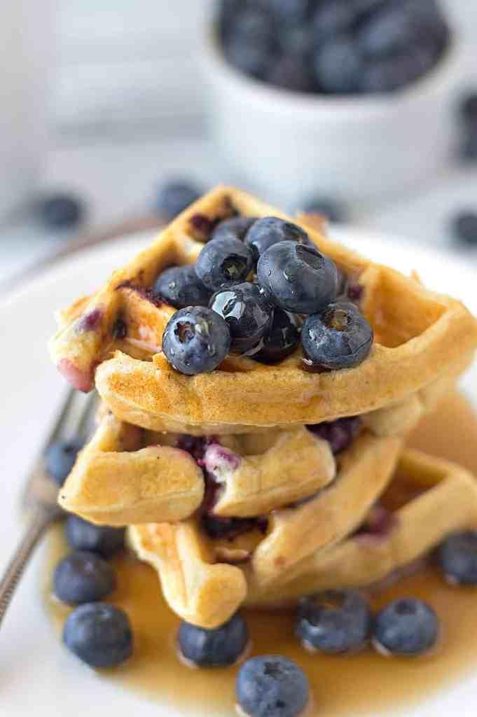BLueberry Ricotta Waffles DSC_0573