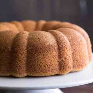 Amaretto Bundt Cake