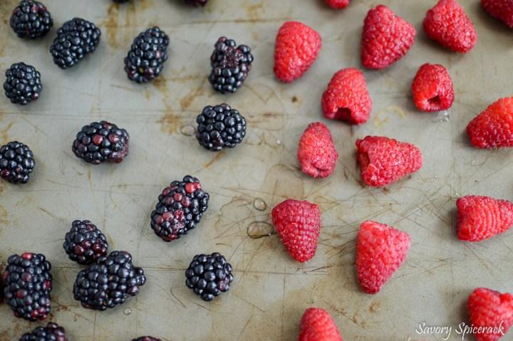 freezing berries 2