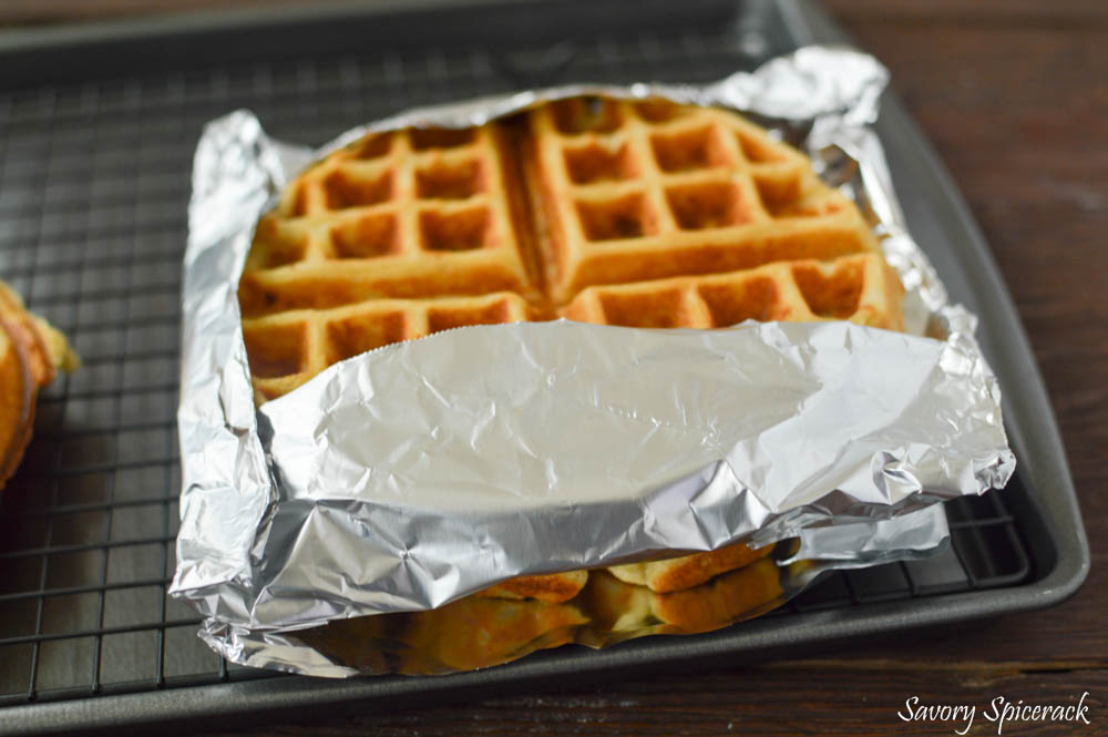 Homemade Freezer Waffles 5