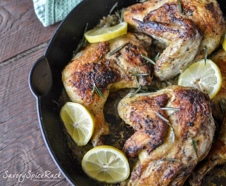 lemon rosemary garlic chicken