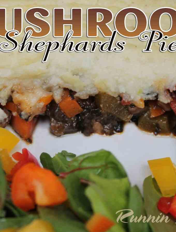 Mushroom Shepherd's Pie!