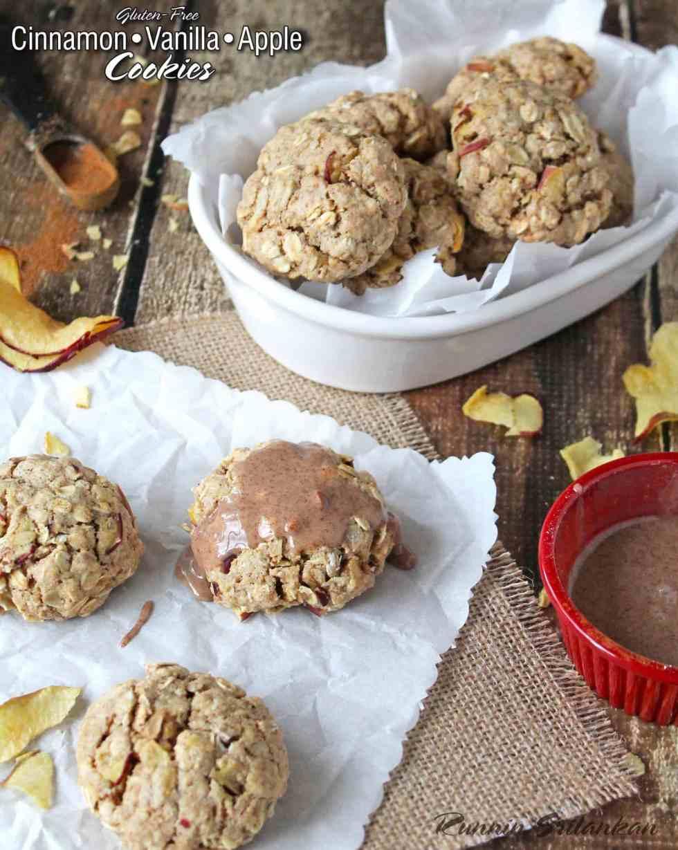 Gluten Free Cinnamon Vanilla Apple Cookies #HolidayWithGlade