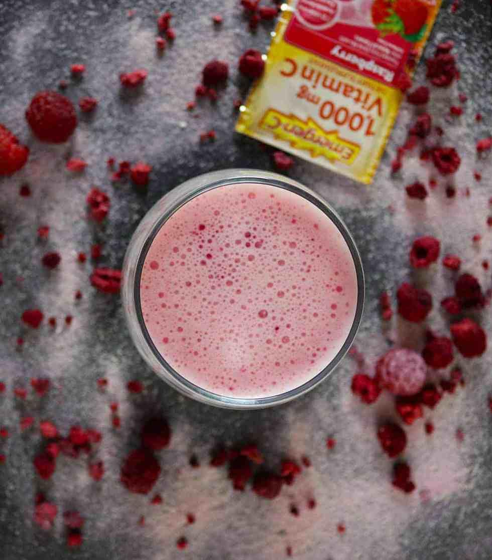 Raspberry Yogurt Drink #emergencrecipes