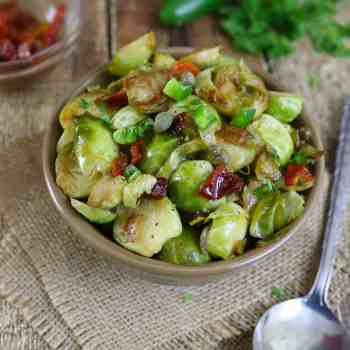 Capered Brussels Sprouts
