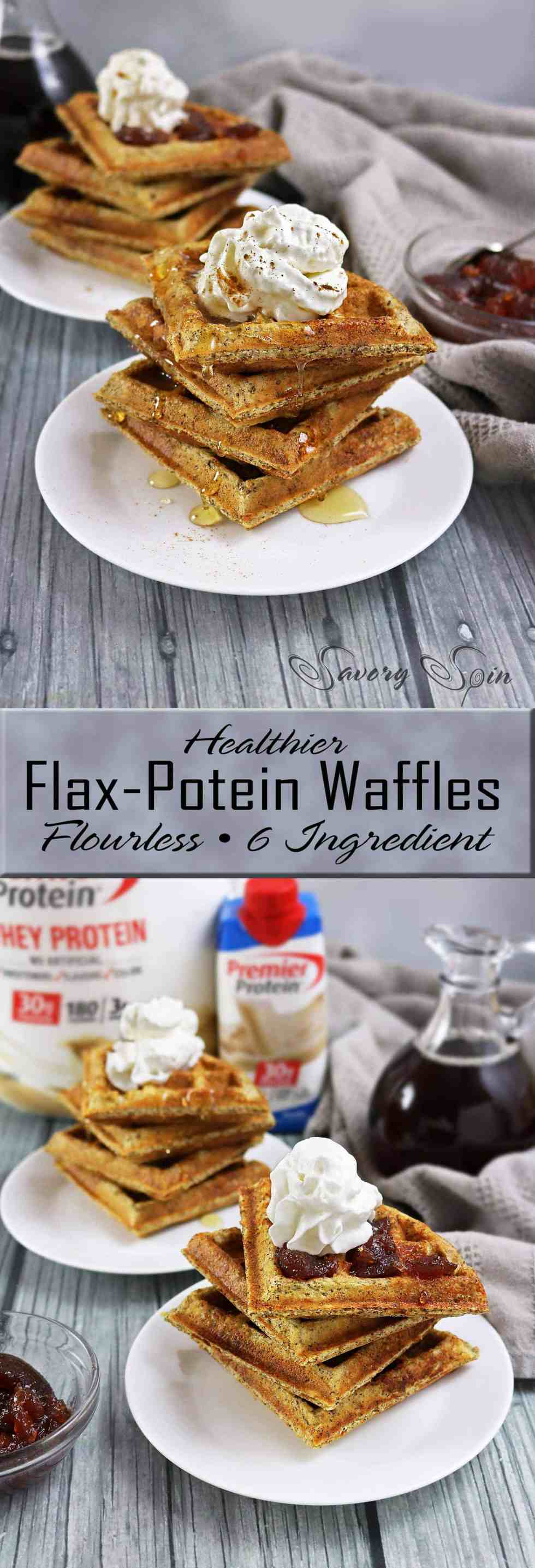 Flax Protein Waffles #TheDayIsYours #Sponsored