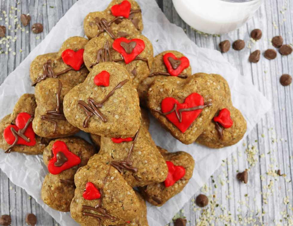 Easy, Gluten Free, Chocolate hemp Cookies