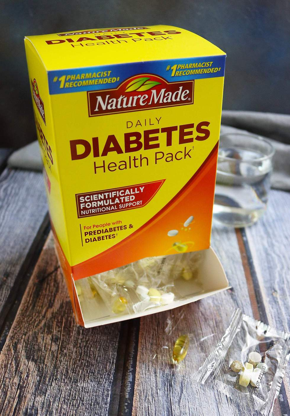 Nature Made® Daily Diabetes Health Pack