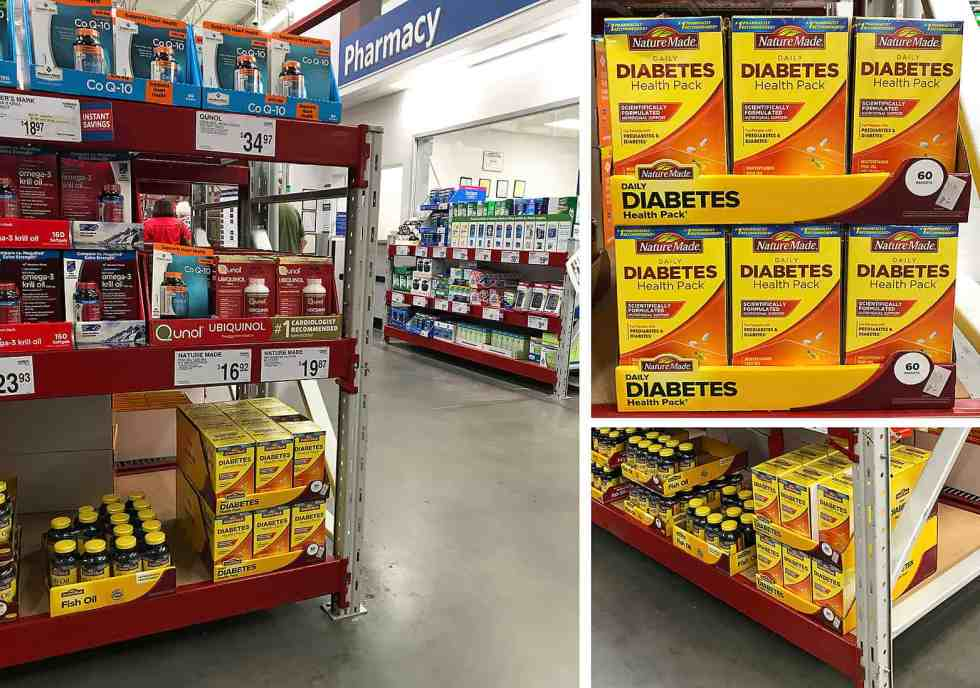 Nature Made® Daily Diabetes Health Pack at Sam's Club