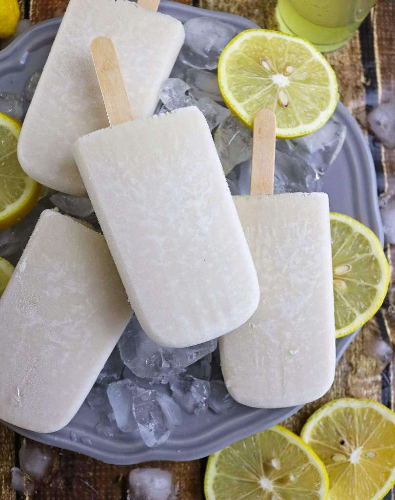 Limoncello Popsicles