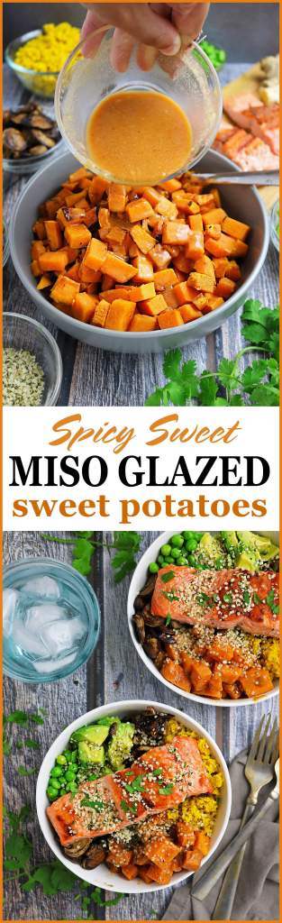 Delicious Miso Glazed Sweet Potatoes #HelloSprouts @Sproutsfm