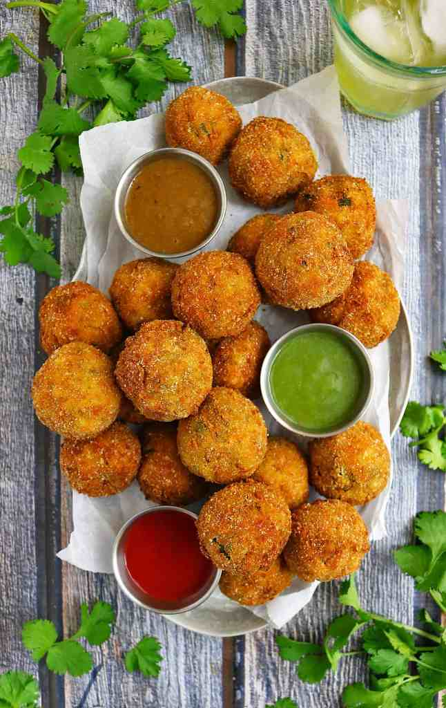 Carrot Spinach Croquettes #FieldToBottle