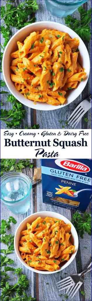 Creamy Butternut Squash Pasta with Barilla® Gluten Free Pasta