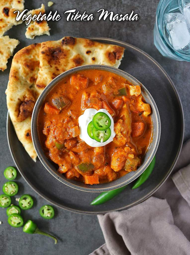 Easy Vegetable Tikka Masala