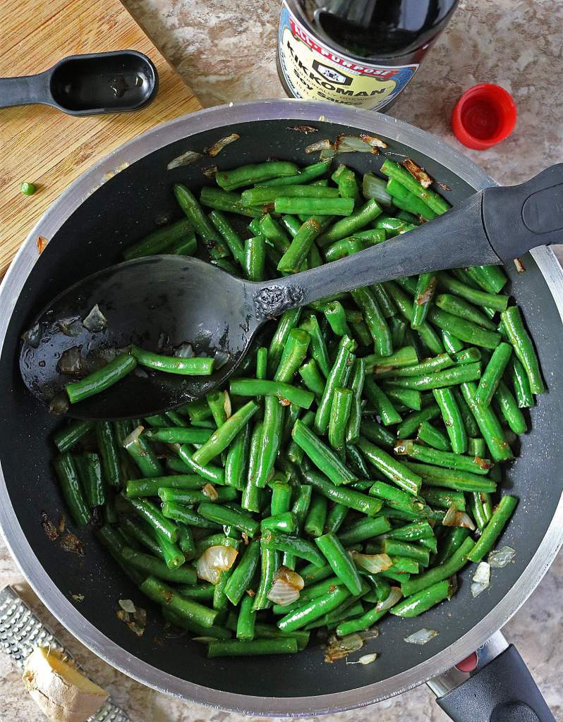 Kikkoman® Green Bean Casserole Prep