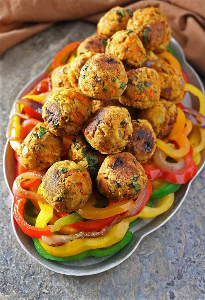 Meatless Veggie Balls
