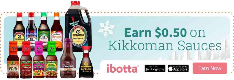 Ibotta Offer on Kikkoman Soy Sauce