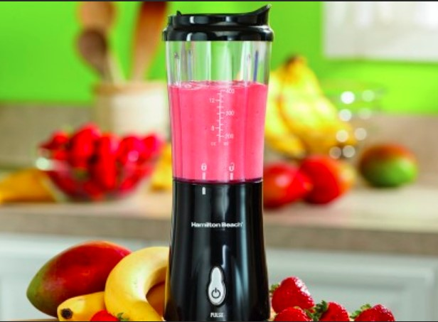 how does a Battery Operated Blender works