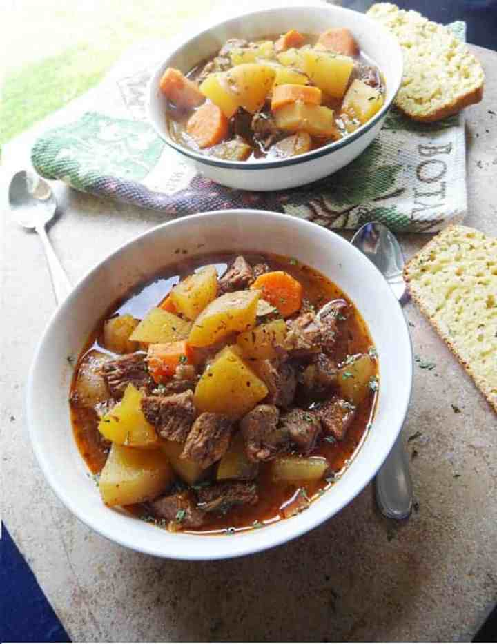 Easy Beef Stew Slow Cooker Recipe