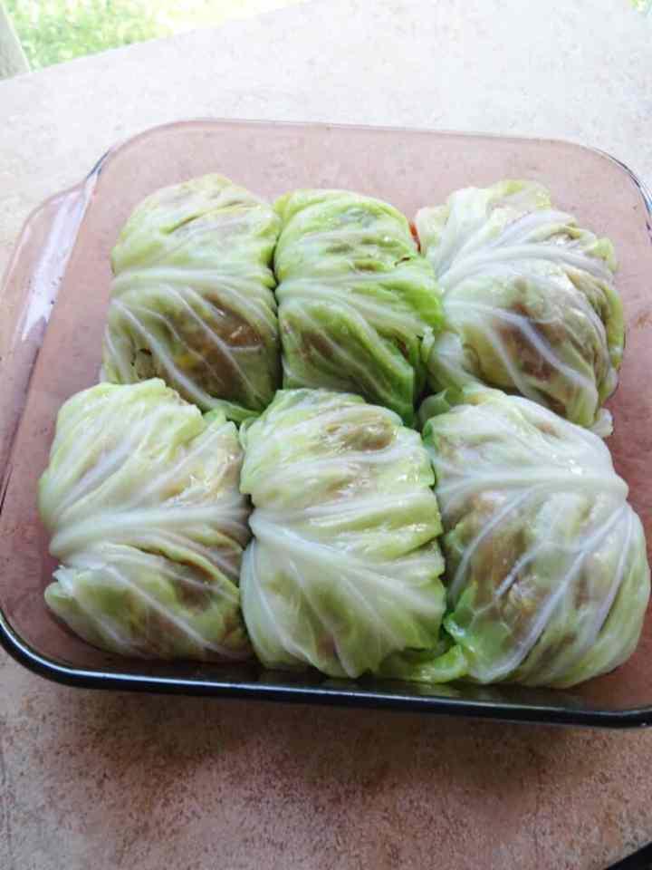 Easy Stuffed Cabbage Rolls