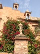 one small wall, Khimsar Palace photo - Karen Anderson