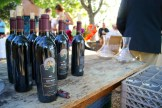 Bill Eggle of Fairview Cellars pulled wines from his private library for the Al Fresco dinner w Joy Road Catering photo - Karen Anderson