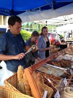 Cameron Smith at the Penticton Farmer's Market photo - Karen Anderson