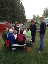 Creating spaces to enjoy the farm adds important culinary tourism dollars for Eagle Creek's bottom line - photo - Karen Anderson