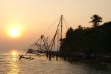 Sunset in Kochin - photo - Karen Anderson