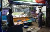 Kochin fish market at night - photo - Karen Anderson