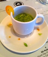 stinging nettle, mint and orange smoothie - photo - Karen Anderson