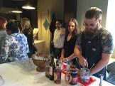 "Proof bartender Jeff Savage making ""Duchess Lemonade"" with Aperol - photo - Karen Anderson"