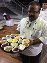 chef Dhiraj Vijayan at L'attitude 49 Mamallapuram - photo - Karen Anderson