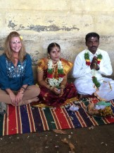 wedding at temple - photo - Karen Anderson