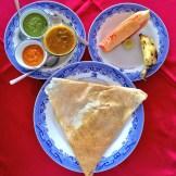 masala dosa breakfast in South India - @savouritall