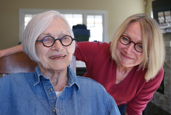 Mrs. Sheila McElligott and Donna McElligott