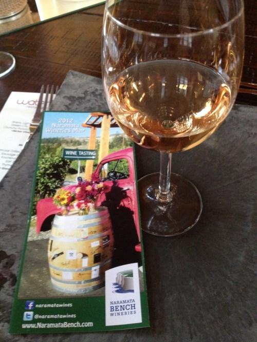 Wines of the Naramata Bench enjoyed at Bodega Retreat