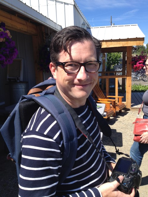 Andrew Morrison, editor, food critic, freelancer, Scout emagazine, Vancouver