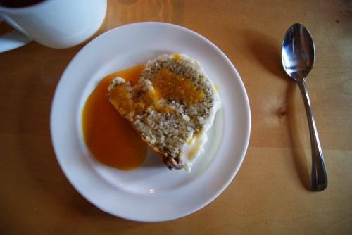 Lemon poppy-seed cake for birthday girl Marie-Therese Hogg Photo - Karen Anderson