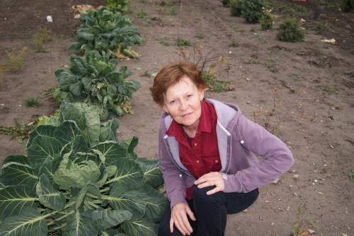 Corrine Dahm grows a beautiful vegetable garden each year Photo - Karen Anderson