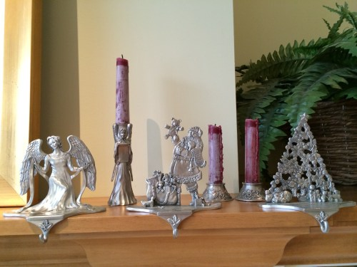 pewter is my metal of choice but silver, gold and bronze add a festive flare photo - Karen Anderson